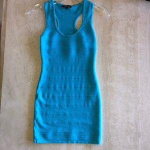 Light Blue Bodycon Mini Dress